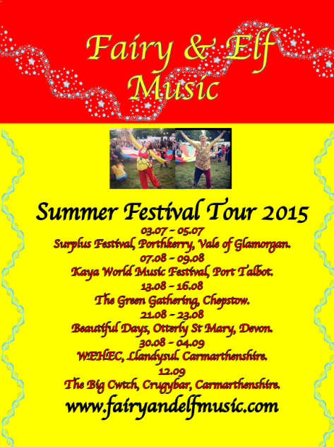 Fairy and Elf Music Summer Tour Poster